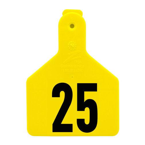 View larger image of Z1 No-Snag Numbered Calf Tags