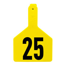 Z1 No-Snag Numbered Cow Tags