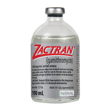 Zactran Injectable Rx