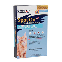 Zodiac Spot On Plus for Cats