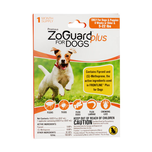 View larger image of ZoGuard Plus Flea and Tick Protection for Dogs