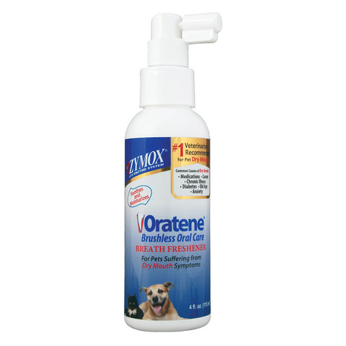 View larger image of Zymox Oratene Brushless Oral Care Breath Freshener for Pets